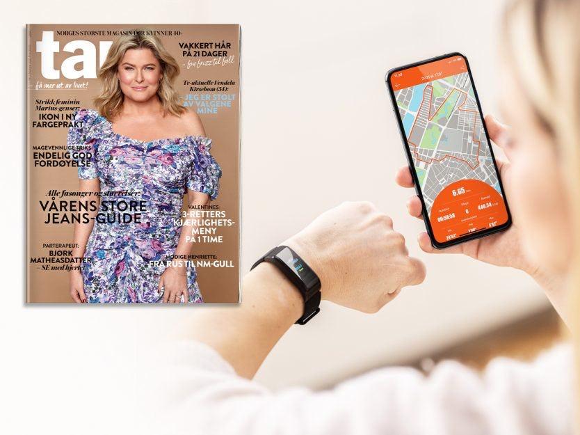 5 utgaver avTara Active Fit Tracker + aktivitetsklokkefor kr 308